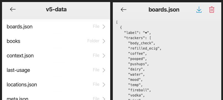 Nomie File Browser